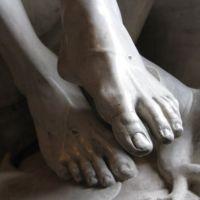 The Vatican Pieta feet detail.jpg