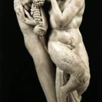 Bacchus (detail), MIchelangelo.jpg